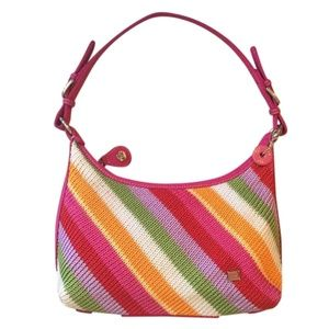 THE SAK RAINBOW KNIT SHOULDER BAG